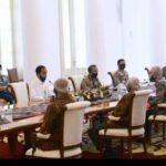 Didatangi Para Purnawirawan, Jokowi sebut Pemerintah Tidak Ikut Campur Soal RUU HIP