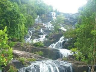 Air Terjun Tujuh Tingkat Batang Koban, Kuansing-Riau