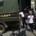 """video TNI AL Ngamuk di Polres Nias Selatan, Polisi Dipukuli,"""" Main- main KALIAN ya!"""""""