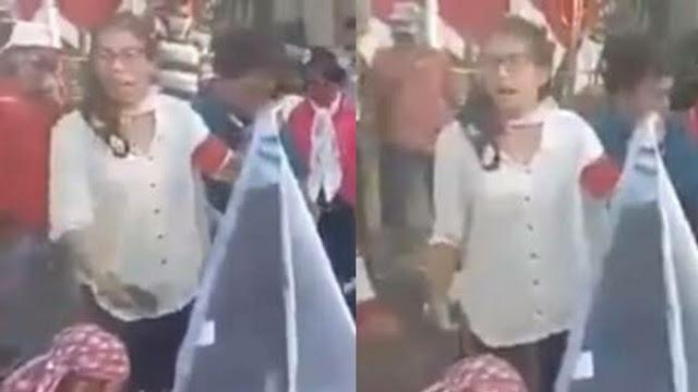Aksi Massa yang Menginjak- injak serta Membakar Gambar HRS Diucap Mirip Gerwani PKI