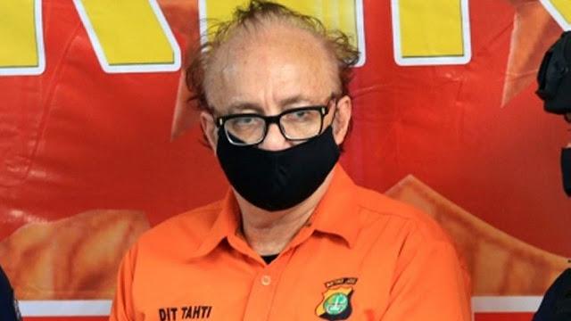 Bule Predator yang Gagahi 305 Anak Bunuh Diri di Rutan Polda Metro Jaya