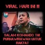 GEMPAR Viral ! Surat Terbuka Purnawirawan TNI : TNI Tidak Bunuh Rakyat !