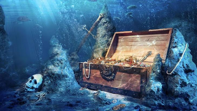 LAPANG!! Setelah Aset di Swiss Rp10.000 Triliun dan Emas Jogja 57.000 Ton, Kini Pemerintah Buru Harta Karun Dasar Laut