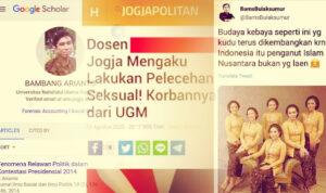 Bambang Swinger Dosen UNU Yogya, Pemeluk Aliran Nusantara serta Penulis di Web Revolusi Mental