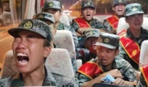 VIDEO! Dikirim Perang Lawan India, Puluhan Tentara China Menangis Ketakutan. HAHAHA....