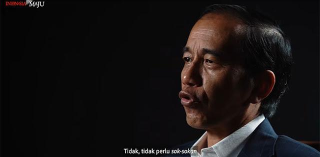 Presiden Jokowi: Ojo Sok-sokan Me-Lockdown Provinsi