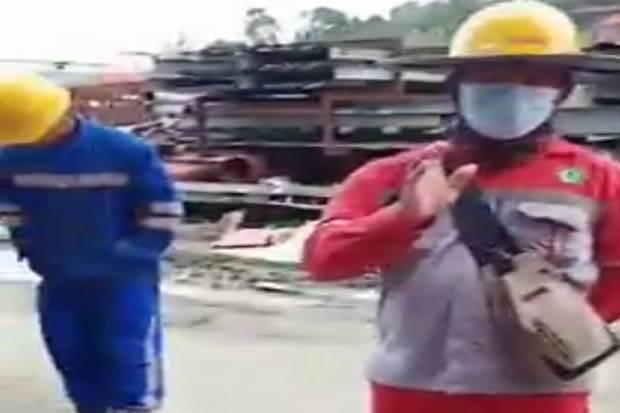 Viral!!, Bos Perusahaan Berbahasa Cina di Halmahera Larang Karyawannya Sholat Jumat