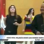 Viral HEBOH! Video Wali Kota Blitar Nyanyi Sambil Joget Tanpa Masker