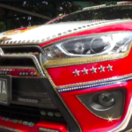Viral!! Car Decorated with Gold Bars And Diamonds Worth 40 M, Here's the Explanation