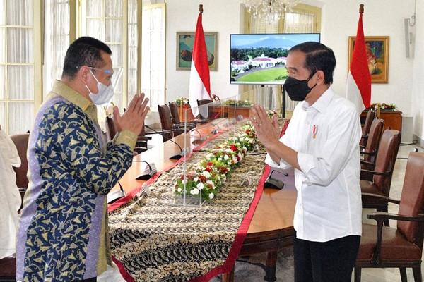 Ketua MPR RI Bamsoet Bahas Amandemen UUD NRI, Jokowi Tanya soal 3 Periode Presiden
