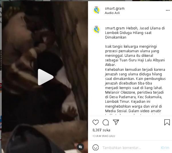 GEMPAR! Jenazah Ulama Ini Mendadak Hilang Saat Dikebumikan, Netizen: Merinding Lihatnya