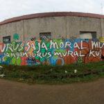 Banyak Mural Kritis Dihapus, Muncul Mural: Urus Saja Moralmu, Jangan Mural ku!