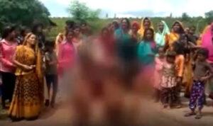 Demi Ritual Minta Hujan, Anak-anak Perempuan di India Diarak Tanpa Sehelai Benang