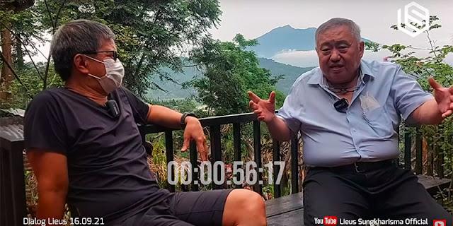 Lieus Sungkharisma Kasih Rocky Gerung Kejutan Berupa Dokumen Ahli Waris Pemilik Tanah Sentul