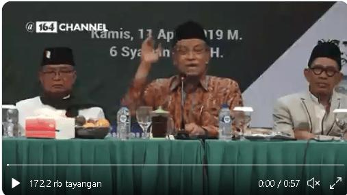 VIDEO! Heboh Said Aqil Klaim Tak Ada Ayat Alquran yang Sebut Allah Itu Ada, Mustofa Nahra Bereaksi