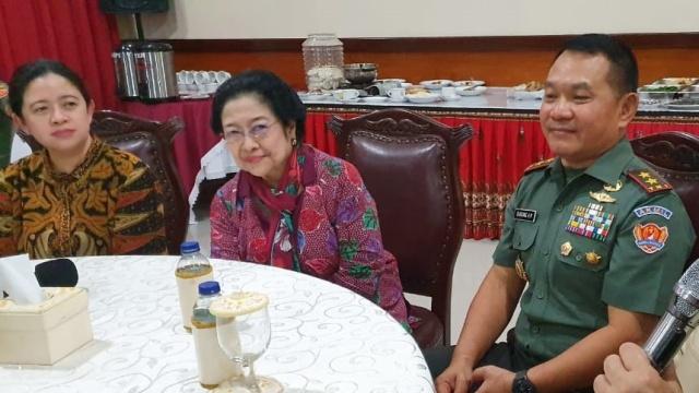 Terungkap Hubungan Khusus Pangkostrad Dudung dengan Ketum PDIP Megawati?