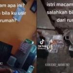 VIDEO Viral Suami Ngamuk Pulang Tak Ada Makanan, Istri Main HP: Salahkah Bila Ku Usir dari Rumah