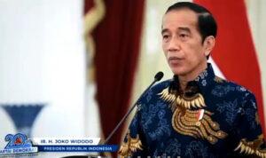Pidato Jokowi di HUT Demokrat Secara Tersurat Mendukung AHY, Bukan Moeldoko?