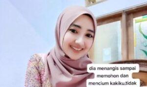 Viral! Video Gadis Cantik Ini Batalkan Pernikahan di Mekkah dengan Seorang Ustadz, Ini alasannya