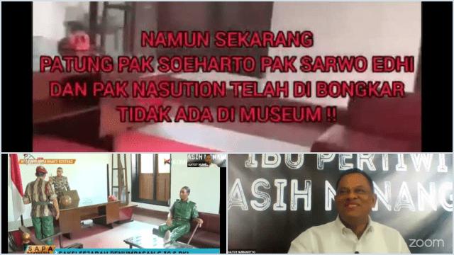 Jenderal TNI (Purn) Gatot Nurmantyo Perlihatkan Indikasi PKI Telah Menyusup ke Tubuh TNI: Patung Soeharto Dibongkar