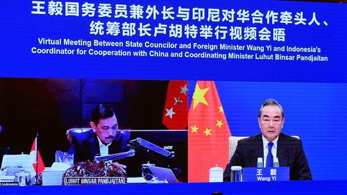 Bertemu Menlu Wang Yi, Luhut Akan Percepat Proyek BRI dan Beli Lebih Banyak Vaksin dari China